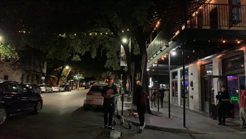 Austin Texas Nightlife - Real FIRST Time Reactions- Made possible by Espen Matheson - TX Nightlife