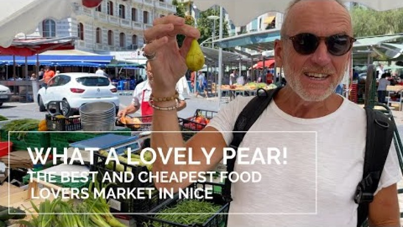 The best and Cheapest food lovers market in Nice, France.