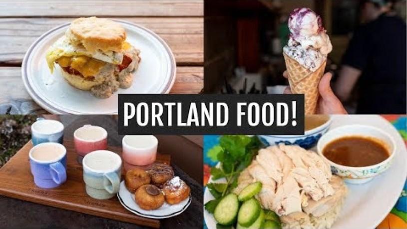 Portland Food, Coffee, & Sights!