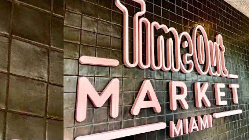 Time Out Market Miami | Florida's Largest Food Hall!