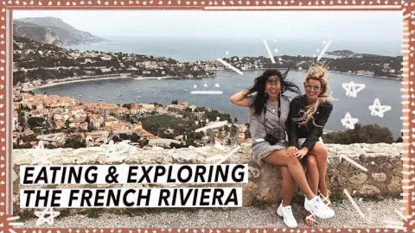 Eating and Exploring Nice, France | French Riviera Travel Vlog