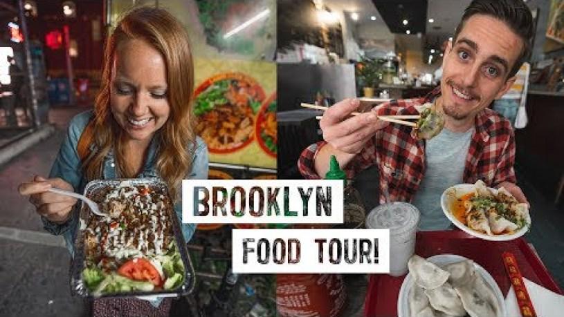 Brooklyn Food & Restaurant TOUR! - Best Street Food, Brunch, Dumplings, & Coffee in Williamsburg!