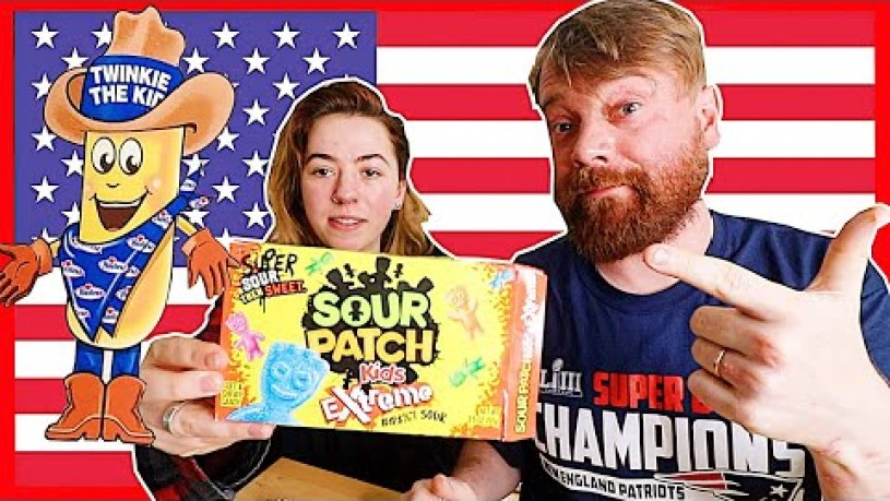 Scottish People Try American Snacks for the first time