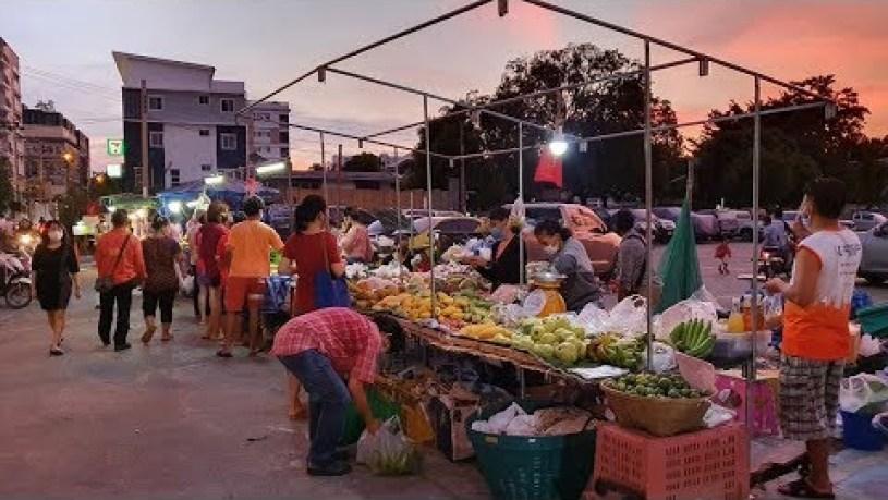 [4K] Street Food & Flea Market in Bangkok, Thailand 2020