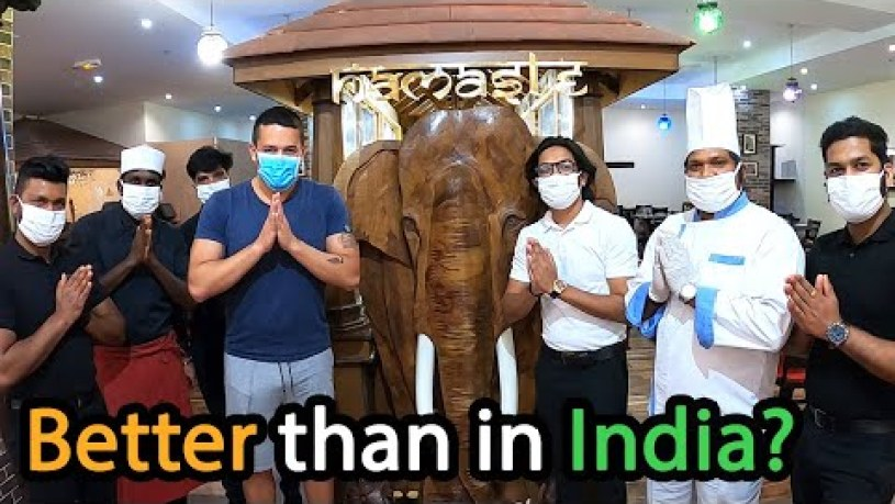 Unlimited All You Can Eat Indian Buffet In France Namaste 🇮🇳
