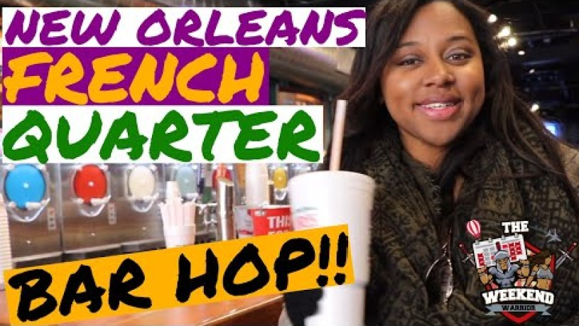 New Orleans Bars | French Quarters Bar Hop!!