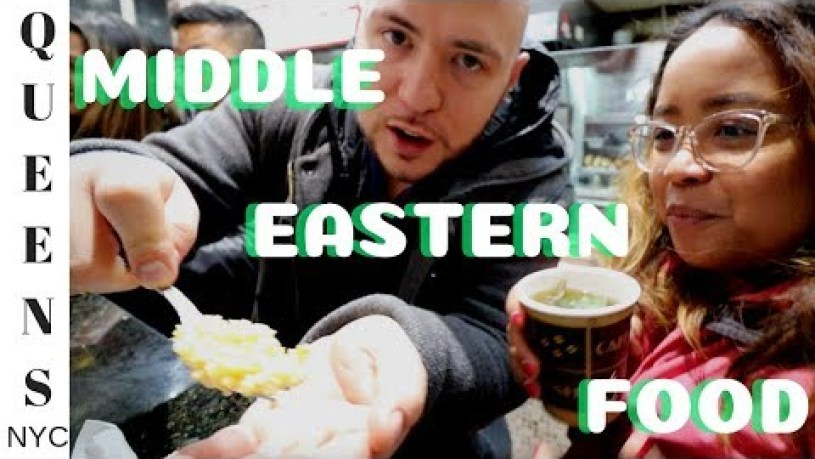 Middle Eastern Food in NYC After Dark | Little Egypt Astoria New York