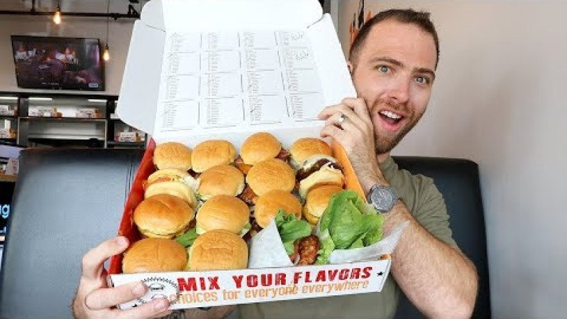 ENDLESS Mini Burgers at BURGERIM | Miami, Florida