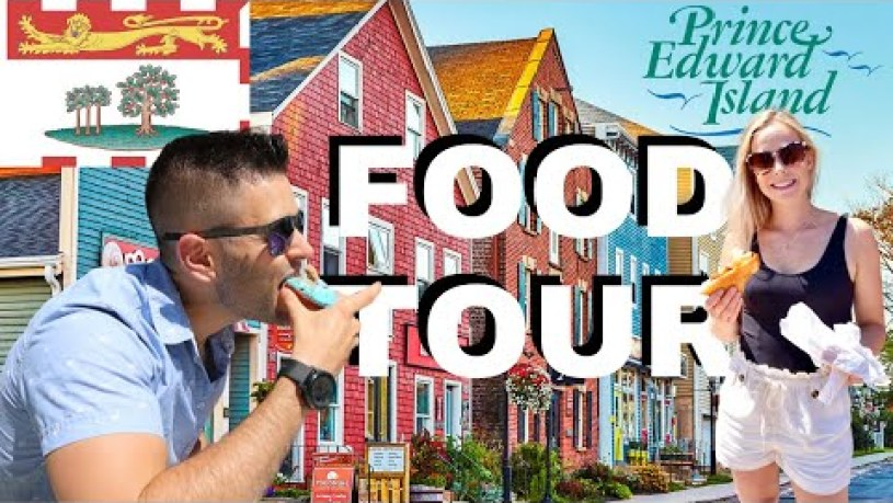 BEST Food in Prince Edward Island Canada / Charlottetown Food Tour