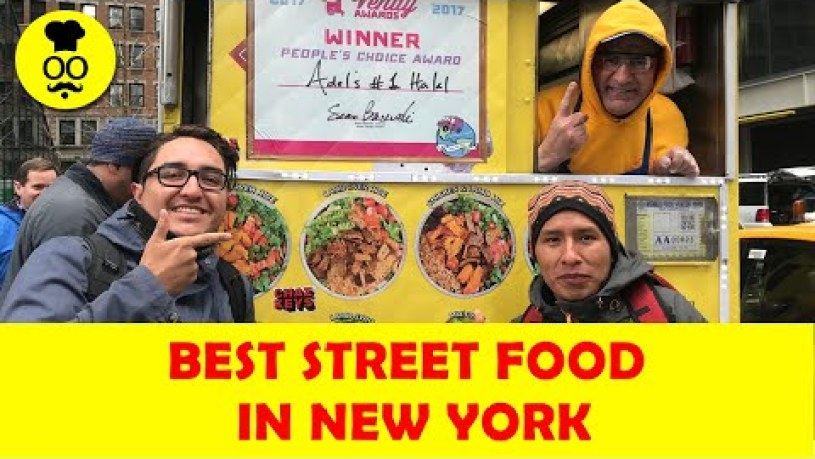 Best Street Food in New York | Street Food to Eat in New York | USA