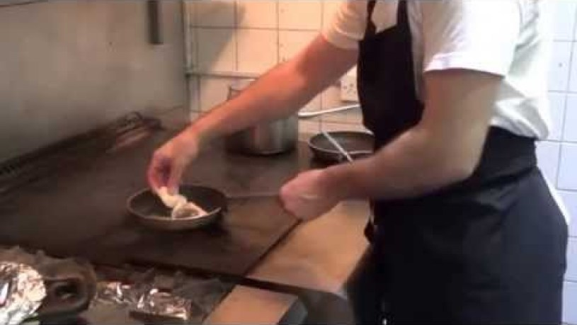 Cooking demo: Cail Bruich Glasgow cooks seasonal Scottish lamb