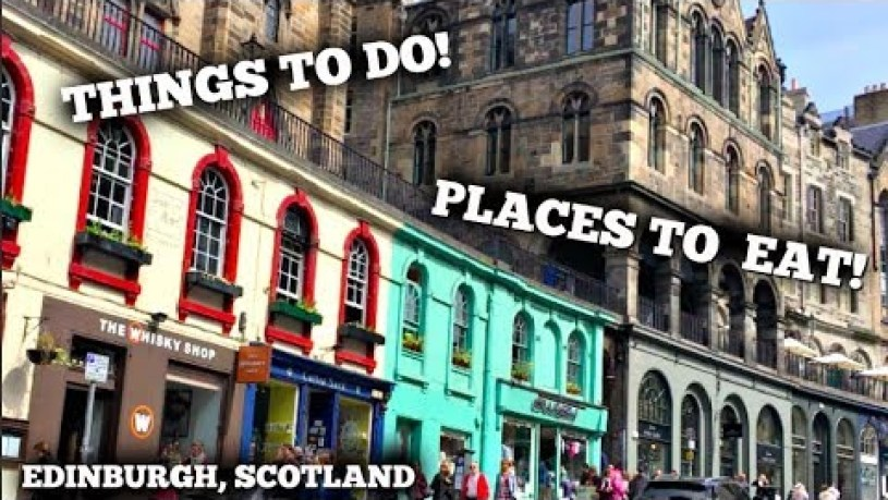 Edinburgh on a Budget   £20 Challenge