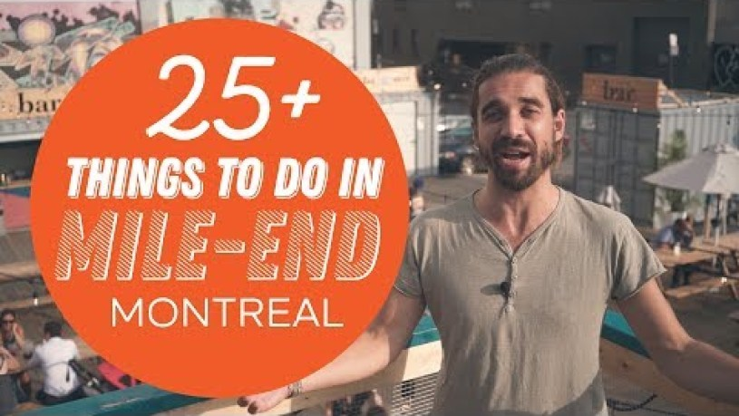 Mile End Montréal   25+ Amazing Montreal things to do   Summer 2019