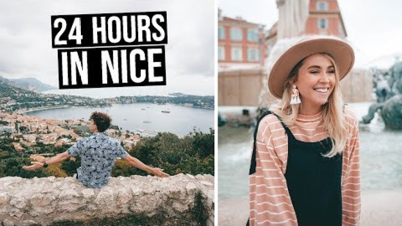 We Went to the French Riviera (24 Hours in Nice, France)
