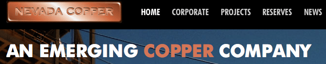 Nevada Copper Getting No Respect, Acquisition Target?