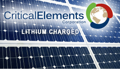 Critical Elements Corp., Lithium Junior to Watch