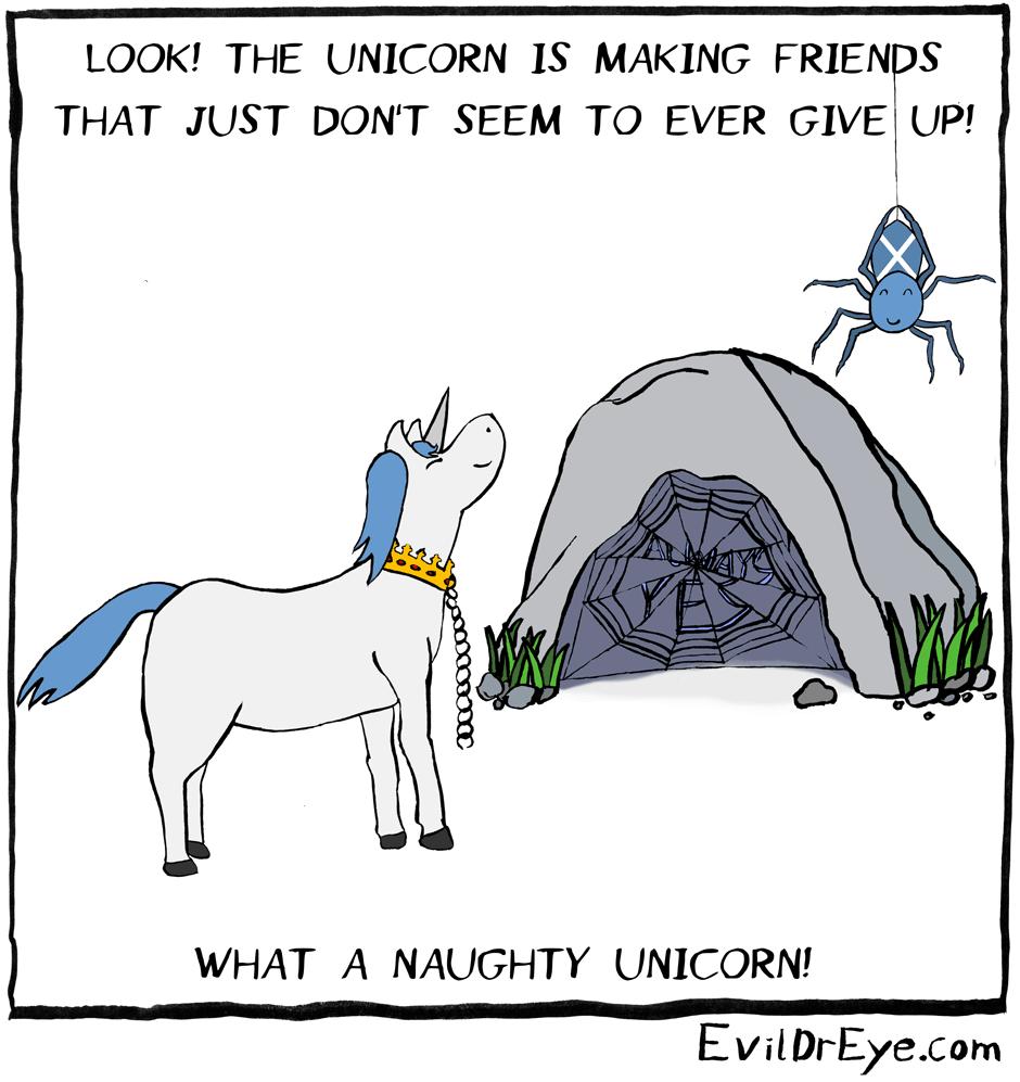 Naughty Unicorn – Spider