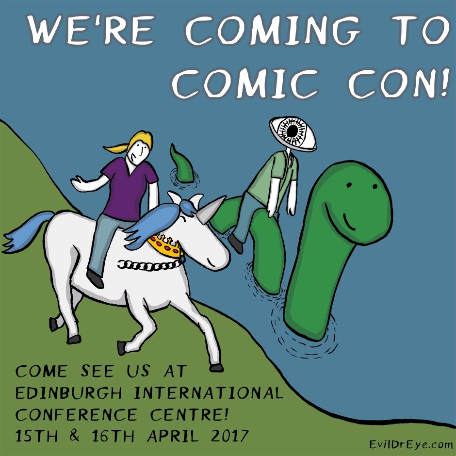Edinburgh Comic Con