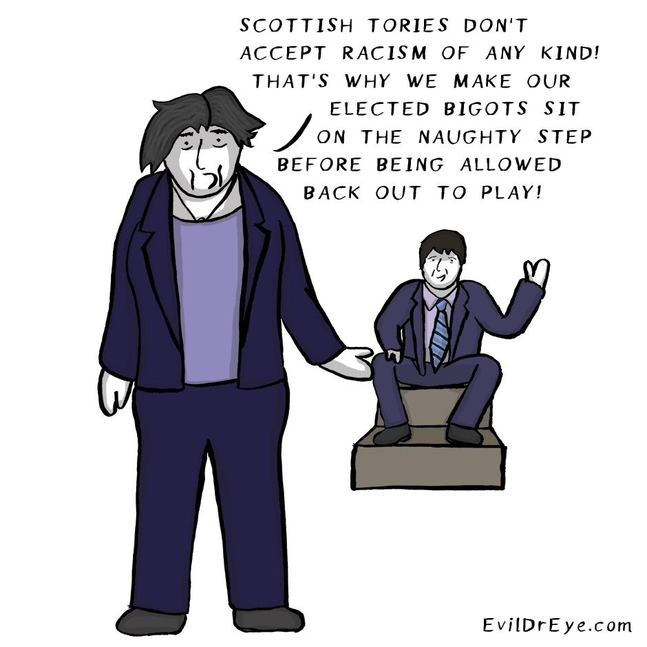 Bad Tory, Bad!