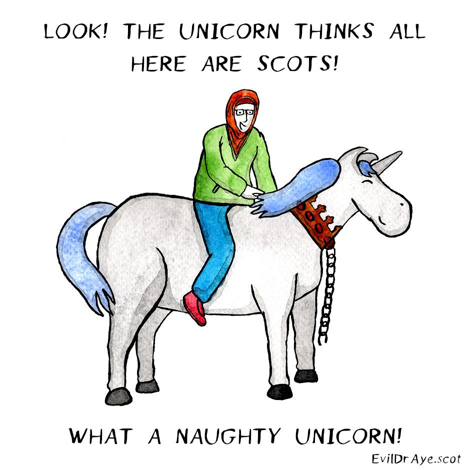 Naughty Unicorn – Scots