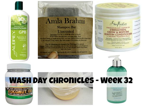 wash day week 32