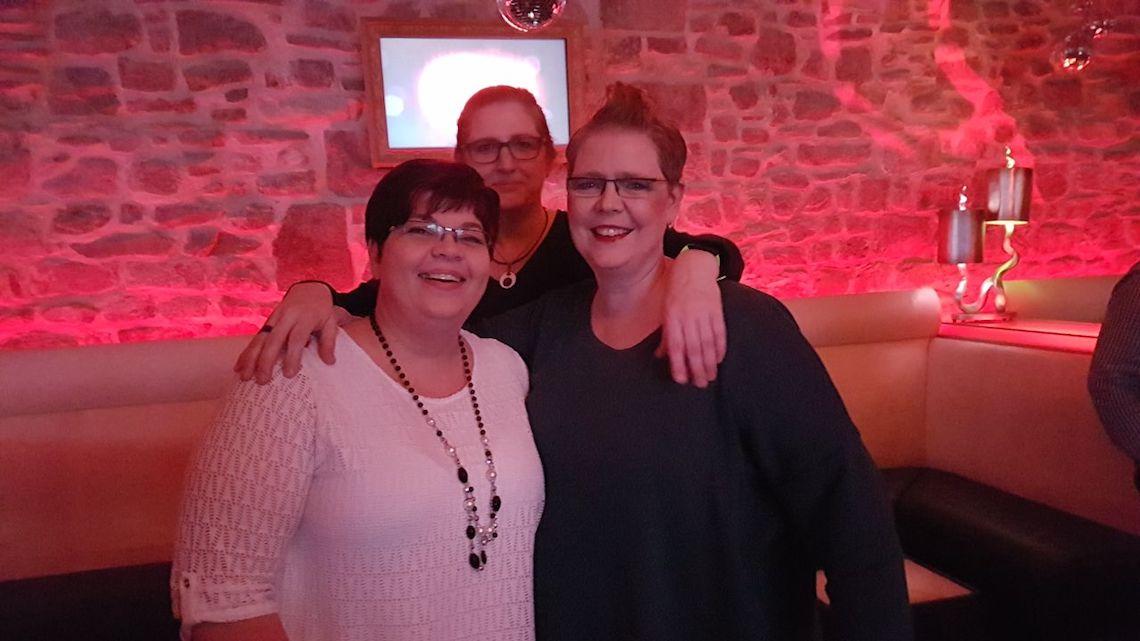 Mit Freunden in Magdeburg