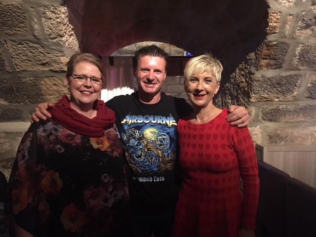 Mit Tatjana Meissner und Matthias Machwerk