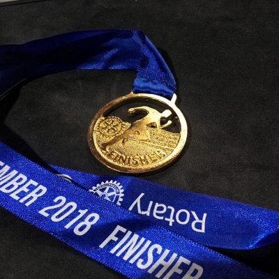 Медаль за завершение марафона