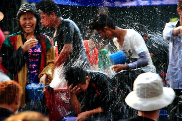 Сонгкран в Таиланде в 2019 году