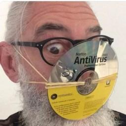 Corona-Antivirus-Maske