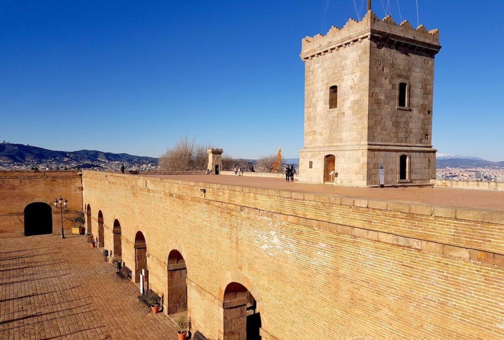 Katonai erőd Montjuic, Barcelona