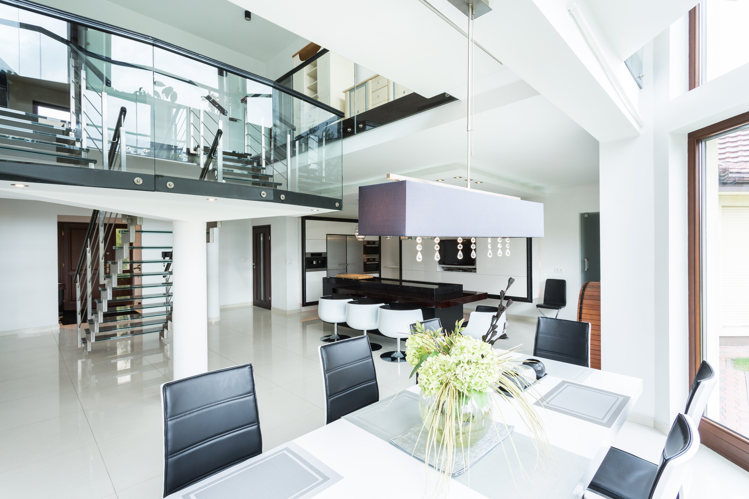 House design valuation - Modern Dining Room In Property