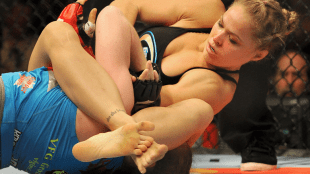 Ronday Rousey fight