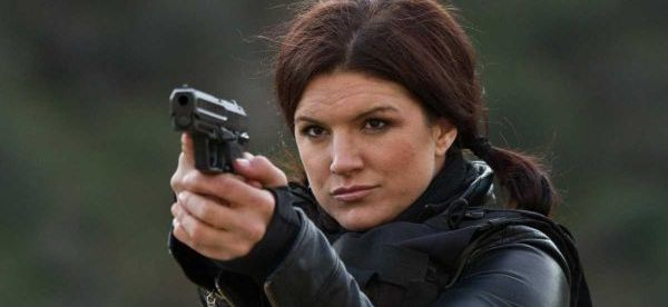 Gina Carano, former MMA champion, starring in the film,