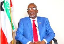 Wasiirka Arrimaha Dibedda Somaliland, Yaasiin Xaaji Maxamuud Xiir (Faratoon)