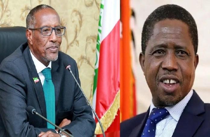 Madaxweynayaasha Somaliland iyo Zambia