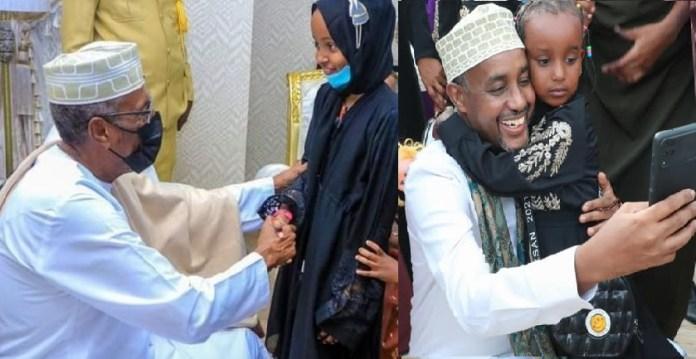 Madaxweynaha Somaliland iyo Ra'iisal Wasaaraha Soomaaliya