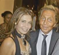 Irene Michaels and Valentino