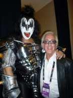 Gene Simmons and Arny Granat