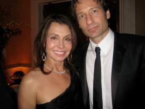 Irene with David Duchovny