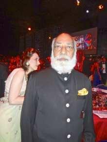 H.R.H. Maharaji Arvind Singh Mewar of Udaipar