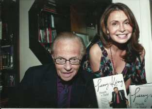 Irene with Larry King