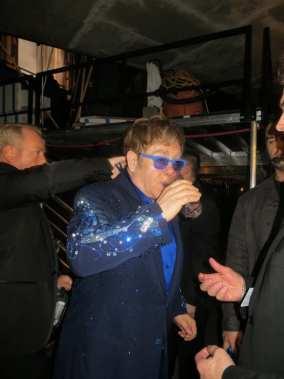 Elton John Having Fun