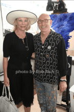 Artists Suzanne LaFleur and JD Miller