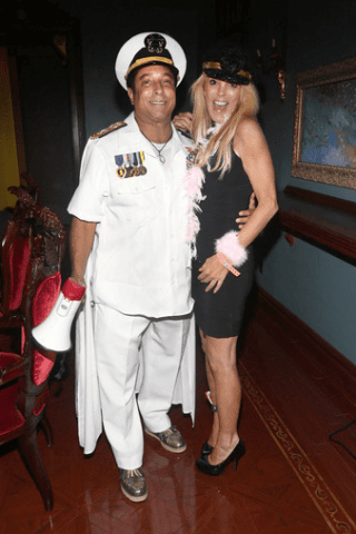 Sir Ivan and Dina Lohan