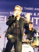 Bono at the Help Haiti event