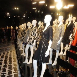 DVF's iconic wrap dresses