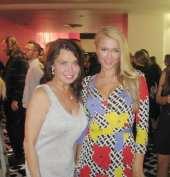 Irene Michaels and Paris Hilton