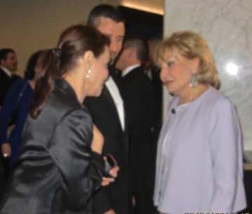 Irene and Barbara Walters
