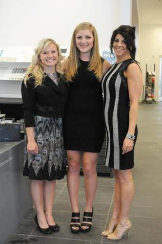 Brittany Anderson, Alyssa Hall, Donna Hall